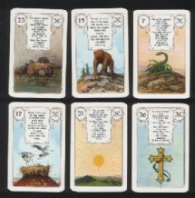 Collectible Fortune telling playing cards Lenormand